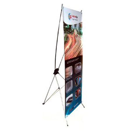X stand banner display