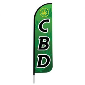 CBD shop flag