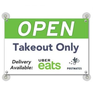 Open_delivery_takeout_uber_eats_postmates_sign
