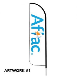 Aflac_insurance_agent_logo_feather_flag_outdoor_1