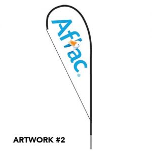 Aflac_insurance_agent_logo_feather_teardrop_flag_outdoor_2