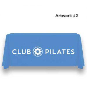 Club_pilates_logo_table_throw_cover_print_banner_blue_2