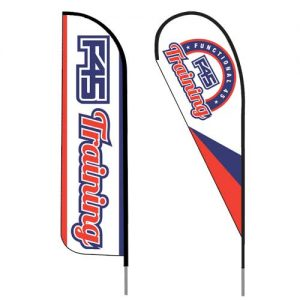 F45_training_fitness_logo_feather_flag_outdoor