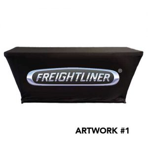 Freightliner_trucks_stretch_table_cover_logo_print_black_1