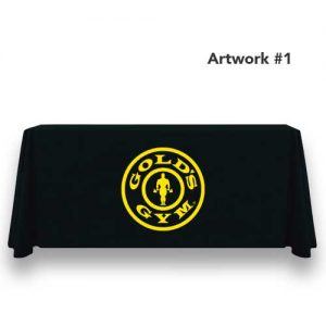 Golds_gym_logo_table_throw_cover_print_banner_black_1