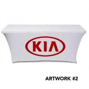 KIA_Motors_stretch_table_cover_logo_print_white_2