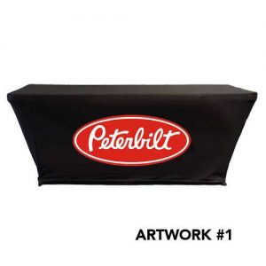 Peterbilt_trucks_stretch_table_cover_logo_print_black_1