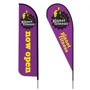 Planet_fitness_logo_feather_flag_outdoor