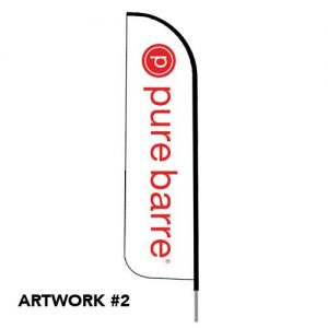 Pure_barre_club_fitness_logo_feather_flag_outdoor_white_2