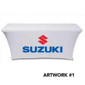 Suzuki_motors_stretch_table_cover_logo_print_white_1