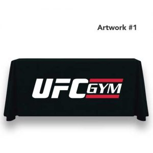 UFC_gym_logo_table_throw_cover_print_banner_black_1