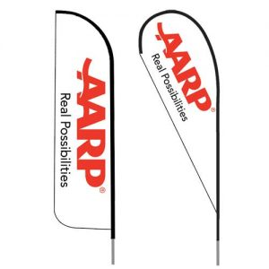 AARP-insurance-agent-logo-feather-flag