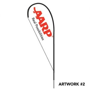AARP-insurance-agent-logo-teardrop-flag