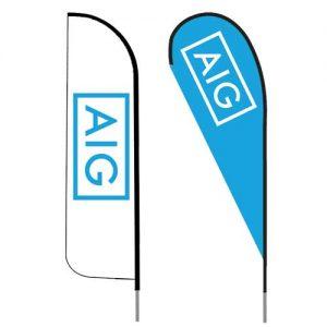 AIG-insurance-agent-logo-feather-flag