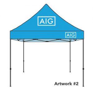 AIG_insurance_agent_logo_tent_canopy_blue_2