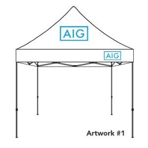 AIG_insurance_agent_logo_tent_canopy_white_2