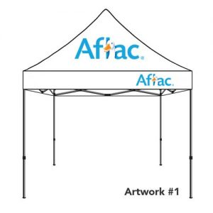 Aflac_insurance_agent_logo_tent_canopy_white_1