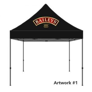 Baileys_irish_cream_custom_logo_tent_canopy