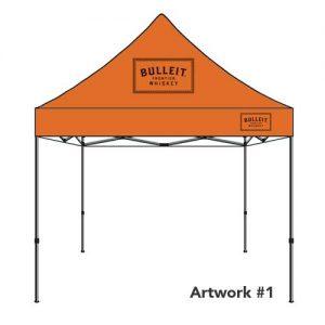 Bulleit_whiskey_custom_logo_tent_canopy_1