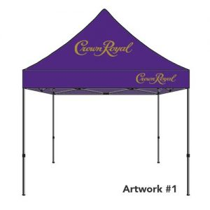 Crown_royal_rum_custom_logo_tent_canopy
