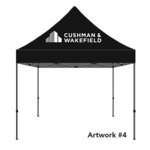 Cushman_Wakefield_C&W_real_estate_agent_logo_tent_canopy_4