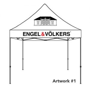 Engel_Volkers_E&V_real_estate_agent_logo_tent_canopy_1