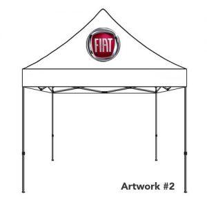 Fiat_Auto_dealer_custom_logo_tent_canopy_white