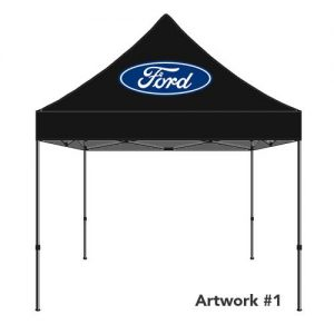 Ford_Auto_dealer_custom_logo_tent_canopy_black