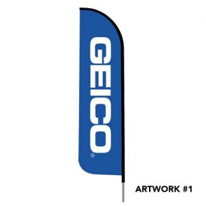Geico-insurance-agent-logo-feather-flag-1