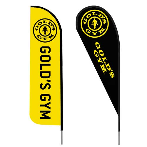 Golds-gym-logo-feather-flag-outdoor