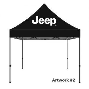 JEEP_Auto_dealer_custom_logo_tent_canopy_black