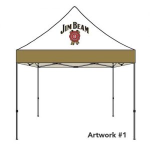 Jim-Beam-custom-logo-tent-canopy