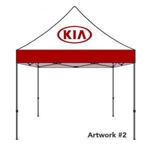 KIA_Auto_dealer_custom_logo_tent_canopy_2