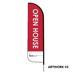 Keller-williams-open-house-realty-logo-feather-flag-3