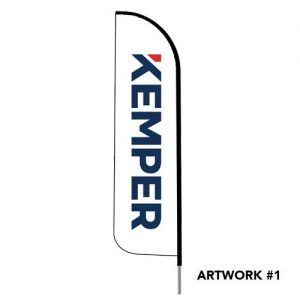 Kemper-insurance-agent-logo-feather-flag