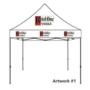 Ketel_one_vodka_custom_logo_tent_canopy