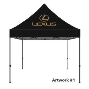 Lexus_Auto_dealer_custom_logo_tent_canopy_1