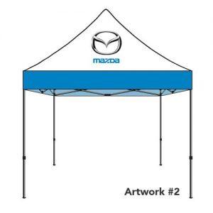 Mazda_Auto_dealer_custom_logo_tent_canopy_2
