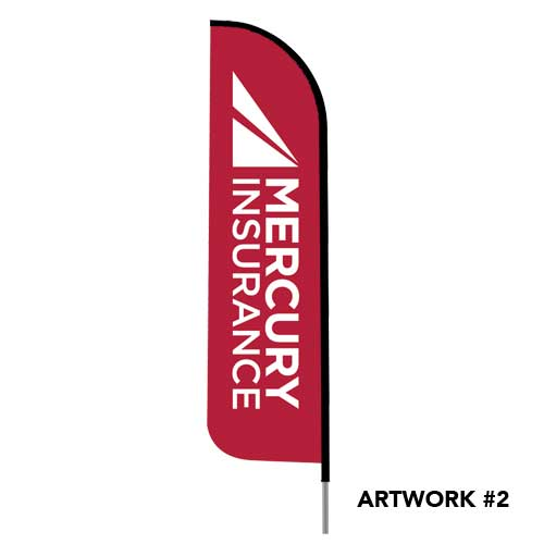 Mercury-auto-insurance-agent-logo-feather-flag-red