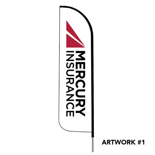 Mercury-auto-insurance-agent-logo-feather-flag