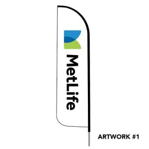 Metlife-insurance-agent-logo-feather-flag