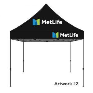 Metlife_insurance_agent_logo_tent_canopy_black_2