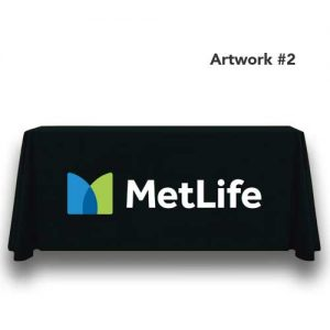 Metlife_insurance_table_throw_cover_print_banner_black_2