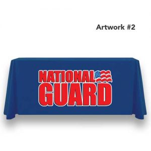 National_Guard_Army_table_throw_cover_print_banner_blue