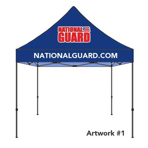 National_guard_army_custom_logo_tent_canopy_blue_1