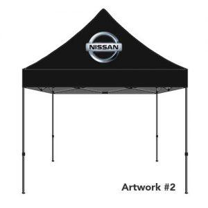 Nissan_Auto_dealer_custom_logo_tent_canopy_2
