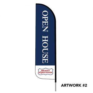 Realty-executives-open-house-logo-feather-flag-2