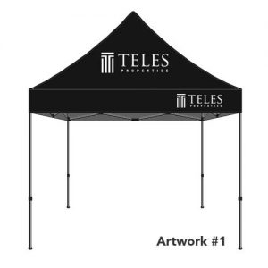Teles_realty_real_estate_agent_logo_tent_canopy_1
