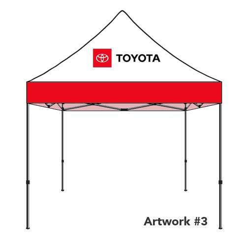 Toyota_Auto_dealer_custom_logo_tent_canopy_red_3