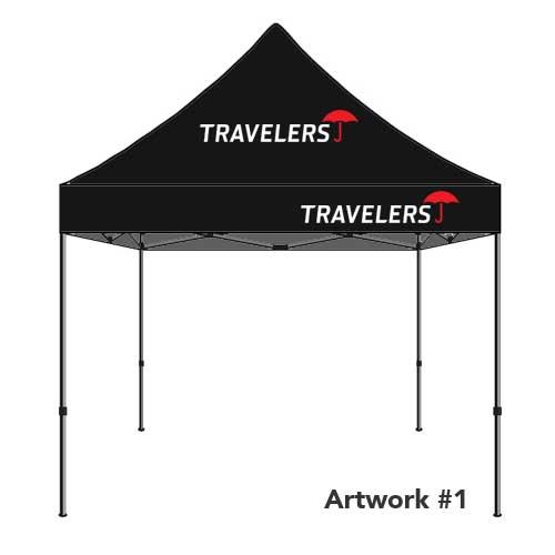 Travelers_insurance_agent_logo_tent_canopy_black_1